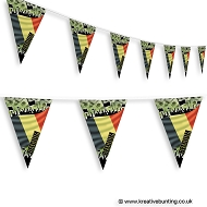 Belgium Football Bunting - Crowd Design